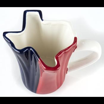 Austin & Texas Texas Shaped Mug