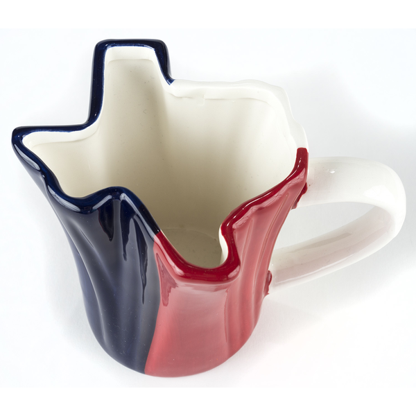 Austin & Texas Texas Shaped Mug