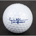 LBJ Presidential Seal White Golf Ball