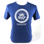 All the Way with LBJ LBJ Presidential Seal Tshirt