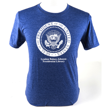 All the Way with LBJ LBJ Presidential Seal Tshirt