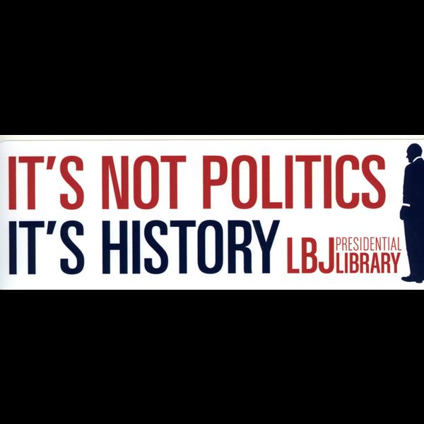 Americana It's History Bumper Sticker