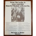 McCarthy is More Together..Flyer