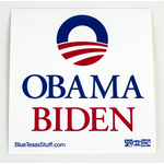 Obama Biden Square Sticker