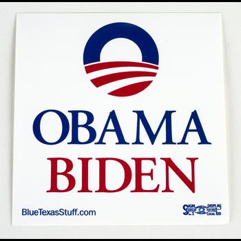 Obama Biden Square Sticker