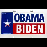 Obama Biden Texas Bumper Sticker