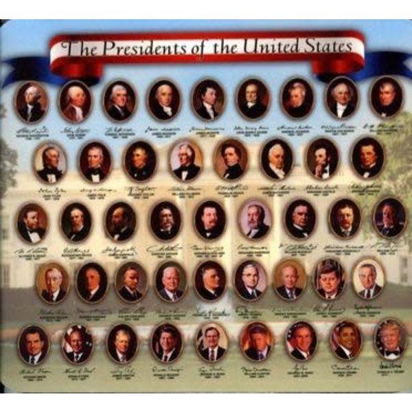 Americana Presidents Mousepad