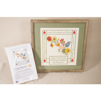 Lady Bird Untamed Beauty Cross Stitch Kit