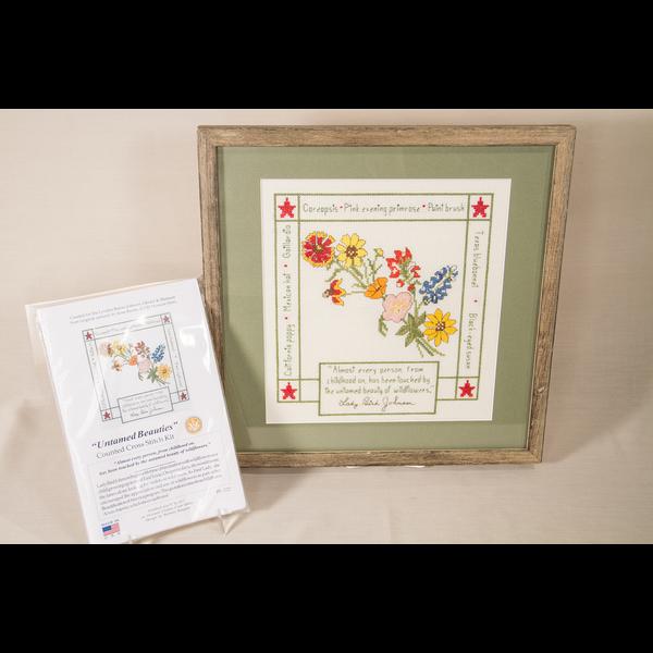 Lady Bird Untamed Beauty Cross Stitch Kit
