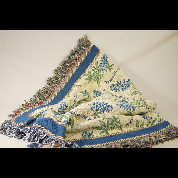 Austin & Texas Bluebonnet Throw Blanket