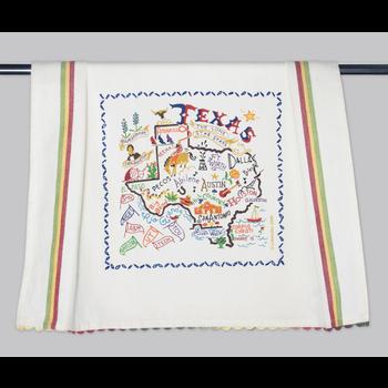 Austin & Texas State of Texas Dish Towel