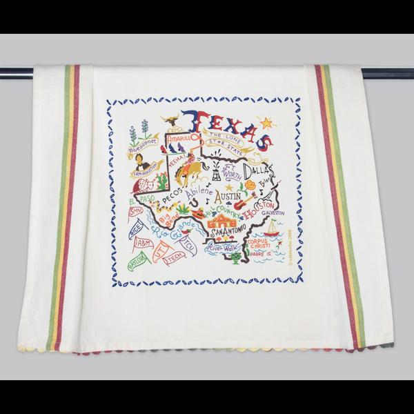 Austin & Texas State of Texas Tea Towel