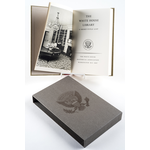 """Lady Bird Johnson Autographed, Limited Edition """"The White House Library: A Short Title List"""""""