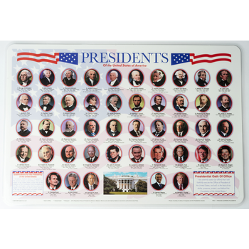Sale Sale-Presidents Placemat