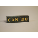 Lady Bird Johnson Can Do Paperweight-Replica