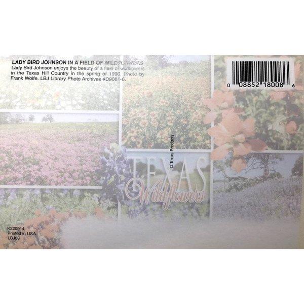 Lady Bird Johnson Lady Bird Wildflowers Postcard