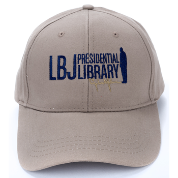 LBJ Presidential Library Cap