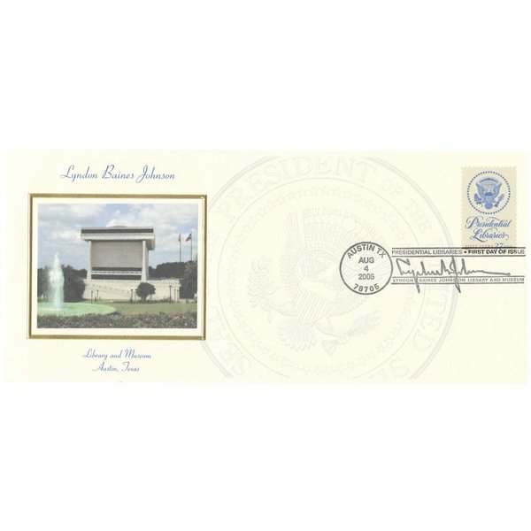 All the Way with LBJ 2005 Commemorative Presidential Libraries Stamp