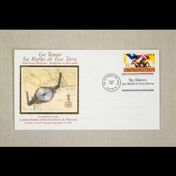 Austin & Texas Los Tejanos Special Stamp Cancellation