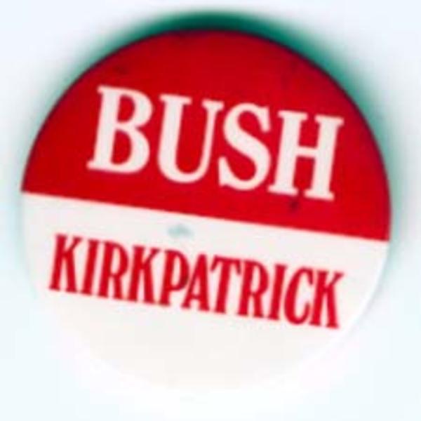 GHW Bush Kirkpatrick