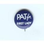 PAT FOR FIRST LADY