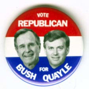 GHW Bush Vote Republican