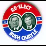 GHW Bush Re-Elect Small