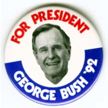 GHW Bush for President '92 Small
