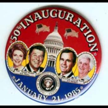 Reagan Bush 50th Inauguration