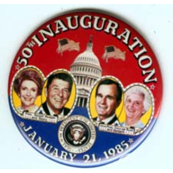 Reagan Bush 50th Inauguration