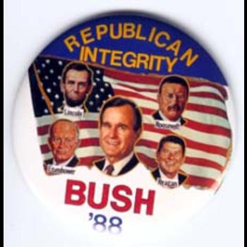 GHW Bush Integrity '88
