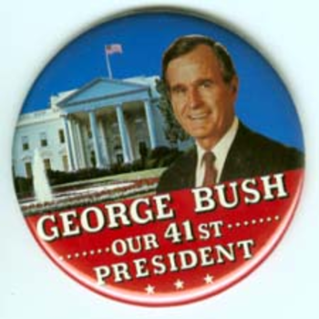 GHW Bush 41st Pres Large