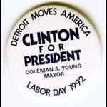 Detroit Moves America Clinton