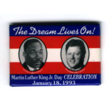 Civil Rights Clinton MLK