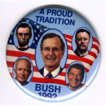 GHW Bush 1992 A Proud Tradition