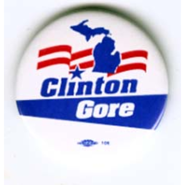 Clinton Gore Michigan Map