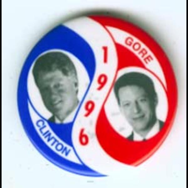 Clinton 1996 Gore RWB Spiral