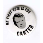 My 1st Vote Is For Carter