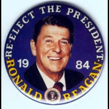 Reagan Re-Elect The Pres