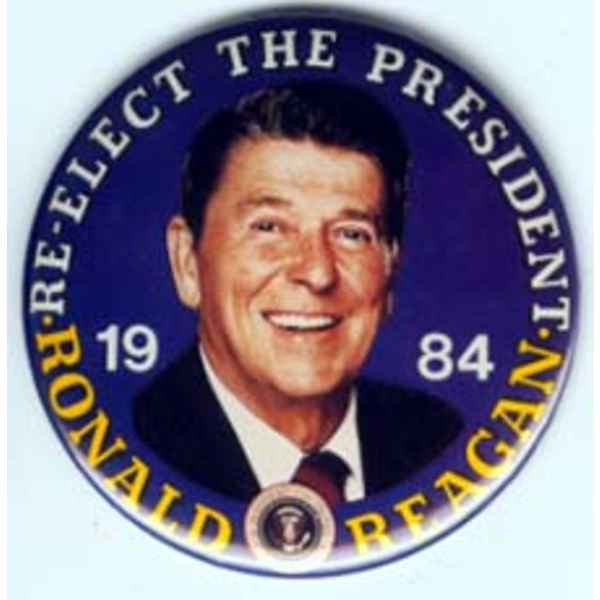 Reagan Re-Elect The Pres