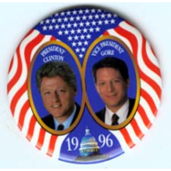 Clinton Gore 1996 jugate