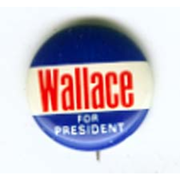Wallace for President Blue