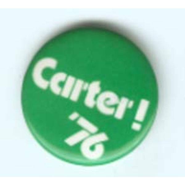 Carter! '76 1976 Campaign Button