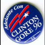 Clinton Gore 96 Adelante