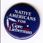 Gore Lieberman Native Americans