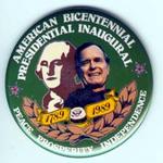 Large GHW Bush Bicentennial Inaugural
