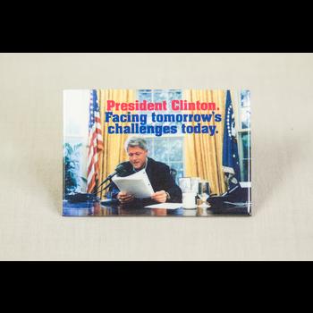 Clinton at Desk (Rectangle)