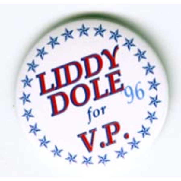 Liddy Dole For VP '96