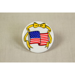 Desert Storm White Flag Button
