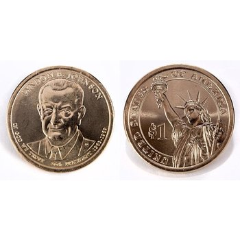 Lyndon B. Johnson US Mint Coin 2015